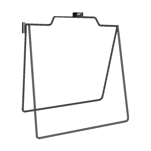 REAL ESTATE SUPPLIES STEEL A-FRAME 18X24
