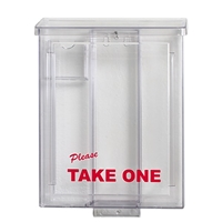 ULTIMATE CLEAR BROCHURE BOX 6 PC PACK ($16.95 ea.)