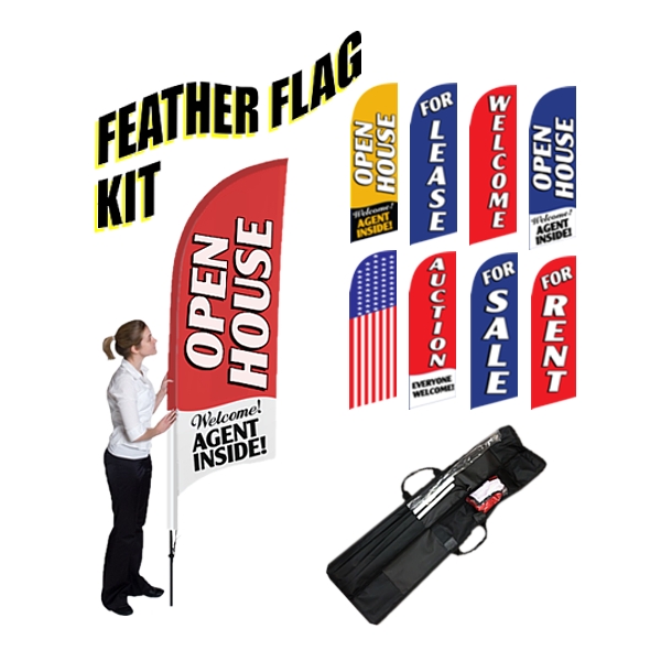 Feather Flag Complete Kit