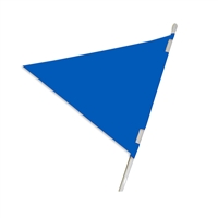 PLASTICLOTH PENNANT 18X24 5PC PACK