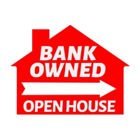 BANK OWNED SIGN ($6.95 ea.) - SINGLE UNIT