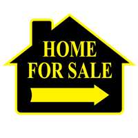 HOME FOR SALE SIGN ($6.95 ea) - SINGLE UNIT