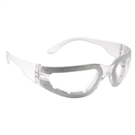 MRF111ID Mirage Foam Anti-Fog Safety Glasses - Clear