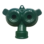 004014 QVS Standard Series Twin Round Metal Sprinkler