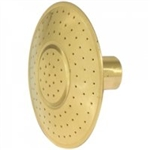 V137 Haws Brass Round Rose