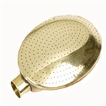 V205 Haws Oval Brass Watering  Rose