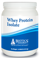 Whey Protein Isolate by Biotics Research