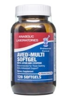 AVED -MULTI SOFTGEL w / lutein & lycopene 60 count by Anabolic Labs
