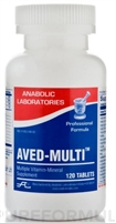 AVED-MULTI TAB 60 count by Anabolic Labs