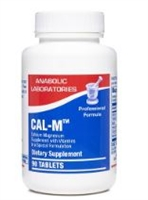 CAL-M TAB 90 count by Anabolic Labs