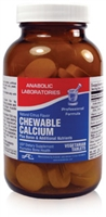 CHEWABLE CALCIUM W/ BORON TAB 120 count by Anabolic Labs