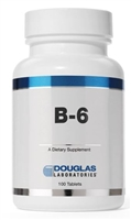 B-6 100 MG 100 count by Douglas Labs