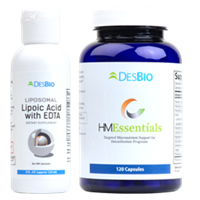 Liposomal Lipoic Acid with EDTA and HMEssentials by DesBio