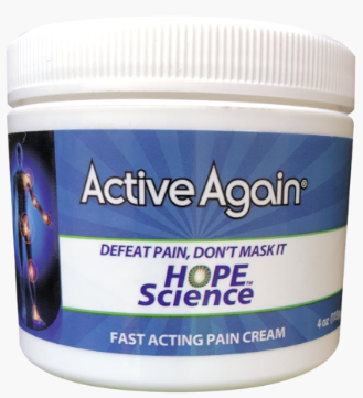 Active Again cream by Hope Science