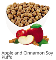 Apple and Cinnamon Soy Puffs by Ideal Protein