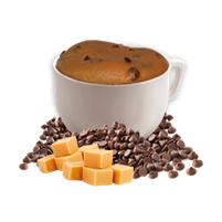 Chocolatey Caramel Flavored Mug Cake by Ideal Protein