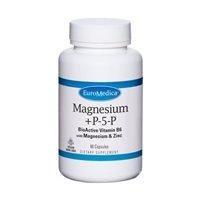 Magnesium + P-5-P by EuroMedica