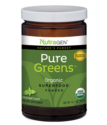 Pure Greens by Nutragen– Fresh Mint
