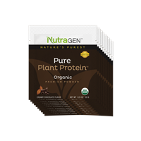 10 Pure Plant Protein by Nutragen Travel Packets – Chocolate