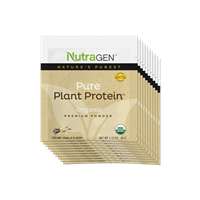 10 Pure Plant Protein by Nutragen Travel Packets – Vanilla