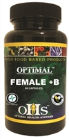 Optimal Female +B 90 ct by Optimal Health Systems