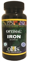 Optimal Iron 120 ct by Optimal Health Systems