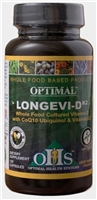 Optimal Longevi-D k2 120 ct by Optimal Health Systems