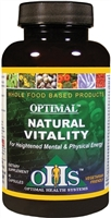 Optimal Natural Vitality 90 ct by Optimal Health Systems