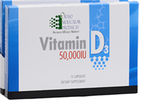 Vitamin D3 50,000 IU (1 15-CT Blisters) by Ortho Molecular