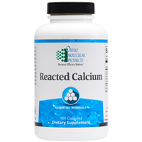 Reacted Calcium 180ct by Ortho Molecular