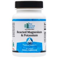 Reacted Magnesium & Potassium 60ct by Ortho Molecular