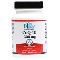 CoQ-10 300mg by Ortho Molecular