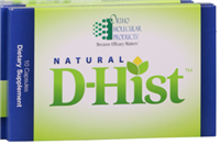 Natural D-Hist Blister Packs by Ortho Molecular
