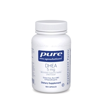 DHEA 5mg by Pure Encapsulations