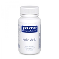 Folic Acid 60ct by Pure Encapsulations