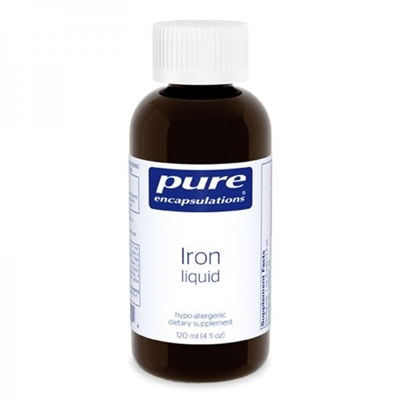 Iron Liquid 120mL by Pure Encapsulations