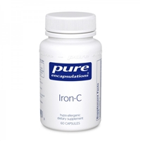 Iron-C 60ct by Pure Encapsulations