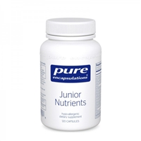 Junior Nutrients 120ct by Pure Encapsulations