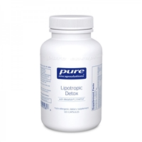 Lipotropic Detox 120ct by Pure Encapsulations