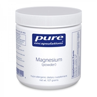 Magnesium Powder 107 G by Pure Encapsulations