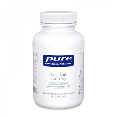 Taurine 1000mg by Pure Encapsulations