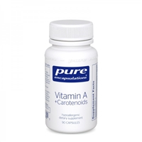 Vitamin A + Carotenoids 90ct by Pure Encapsulations