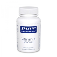 Vitamin A 10,000 iu by Pure Encapsulations