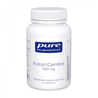 Acetyl-L-Carnitine 500mg by Pure Encapsulations