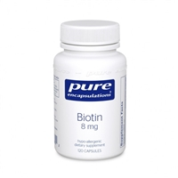 Biotin by Pure Encapsulations