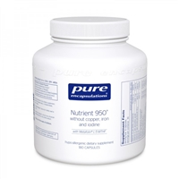Nutrient 950 without copper, iron, and iodine by Pure Encapsulations