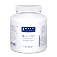 Nutrient 950 without copper and iron by Pure Encapsulations