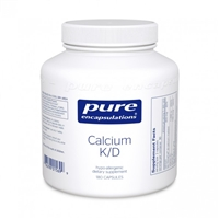 Calcium K/D 180'S by Pure encapsulations