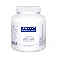 Calcium Magnesium (Cit/Mal) 180ct by Pure Encapsulations