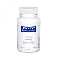 Taurine 500mg by Pure Encapsulations